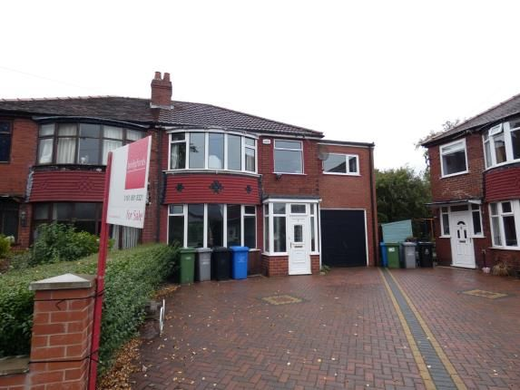 Thumbnail Semi-detached house for sale in St. Teresas Road, Firswood, Manchester, Greater Manchester