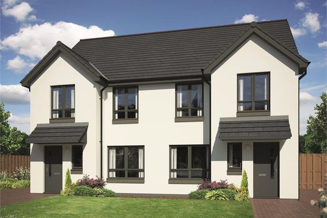 Thumbnail Semi-detached house for sale in The Wisp, Milligan Drive, Edinburgh