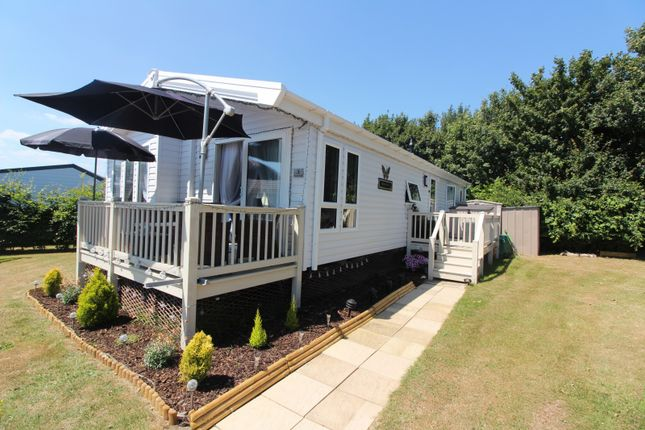 Thumbnail Mobile/park home for sale in Orchard Court Cherry Tree Holiday Park, Burgh Castle