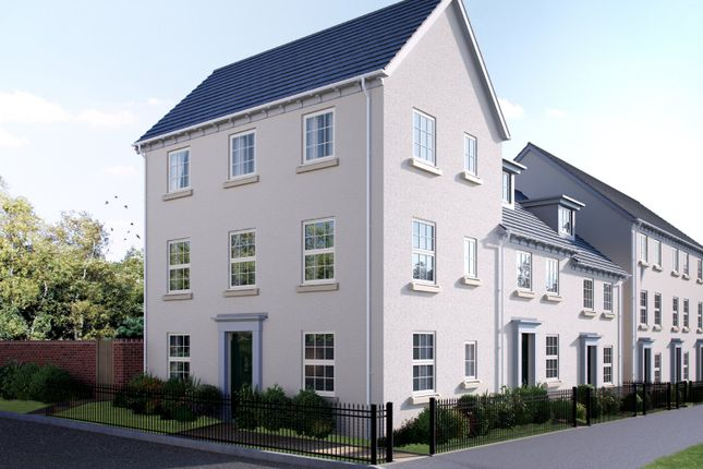 Thumbnail End terrace house for sale in Blackthorn Lane, Cranbrook, Exeter