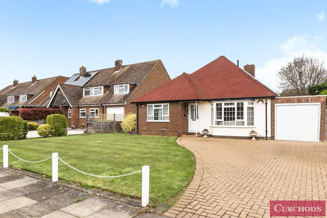 Thumbnail Detached bungalow for sale in Wadham Close, Shepperton