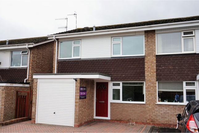 Thumbnail Semi-detached house for sale in Rowan Close, Stratford-Upon-Avon