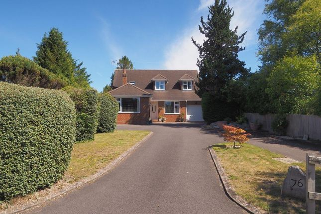 Thumbnail Detached house for sale in Firs Road, Firsdown, Salisbury