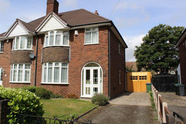 Thumbnail Semi-detached house for sale in Powis Avenue, Tipton