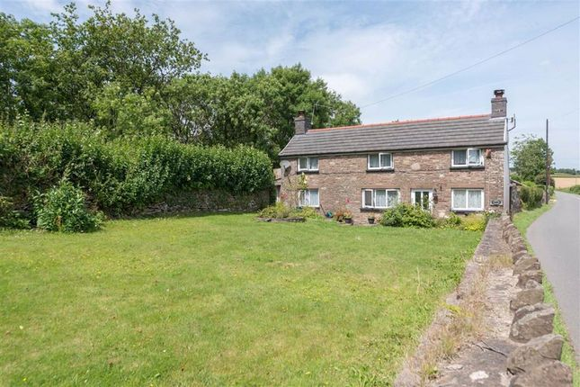 Thumbnail Detached house for sale in Devauden, Chepstow, Monmouthshire