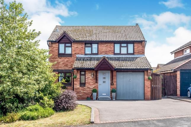 Thumbnail Detached house for sale in Abbotsford Road, Boley Park, Lichfield, Staffordshire