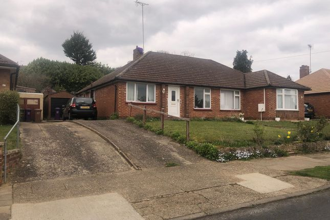 Thumbnail Semi-detached bungalow for sale in Manor Crescent, Hitchin