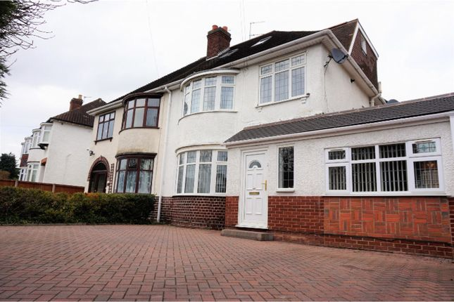 Thumbnail Semi-detached house for sale in Codsall Road, Wolverhampton