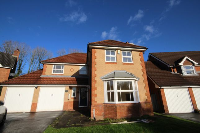 Thumbnail Detached house to rent in Spruce Close, Fulwood, Preston