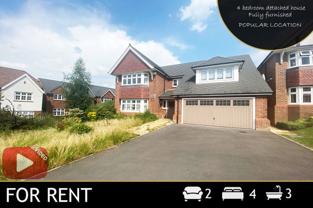 4 bed detached house to rent in Laverton Road, Hamilton, Leicester, Leicestershire LE5