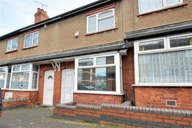 Thumbnail Terraced house to rent in Hardwick Street, Mansfield