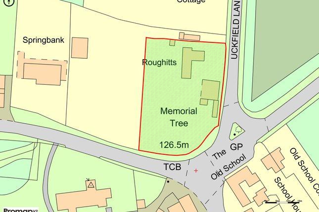 Site Plan of Uckfield Lane, Hever, Edenbridge, Kent TN8