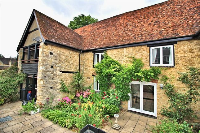 Thumbnail Terraced house for sale in Middle Tithe Barn, Church End, Felmersham