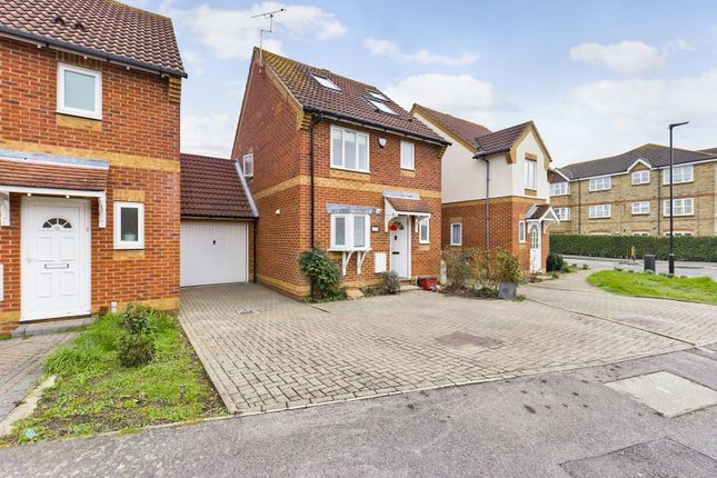 Thumbnail Link-detached house for sale in Trevithick Close, Feltham, Middlesex
