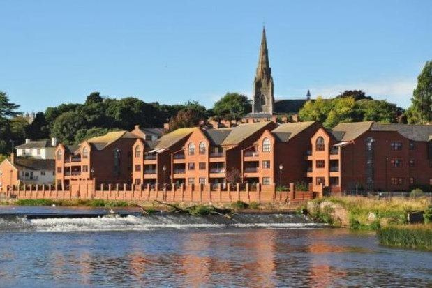 Thumbnail Flat to rent in Old Mill Close, Exeter