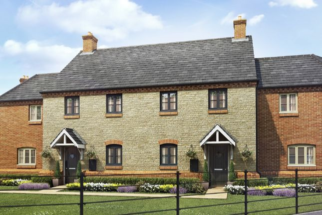 """Thumbnail Terraced house for sale in """"The Alverton"""" at Towcester Road, Old Stratford, Milton Keynes"""