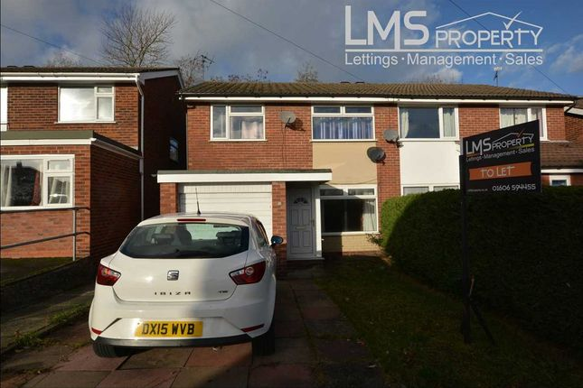 Thumbnail Semi-detached house to rent in Latham Street, Winsford