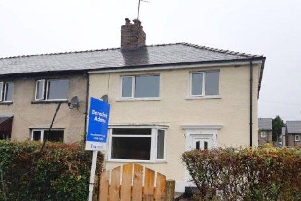 Thumbnail Terraced house to rent in Trehwfa, Bangor