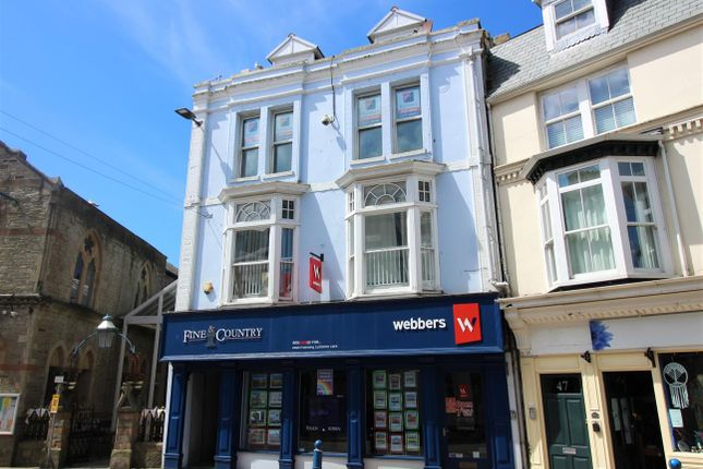 3 bed maisonette for sale in The Lanes, High Street, Ilfracombe EX34