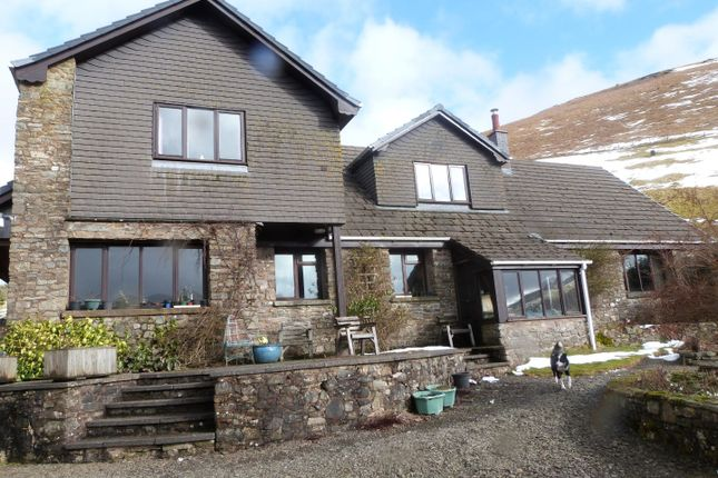 5 bed detached house for sale in Llanafanfawr, Builth Wells