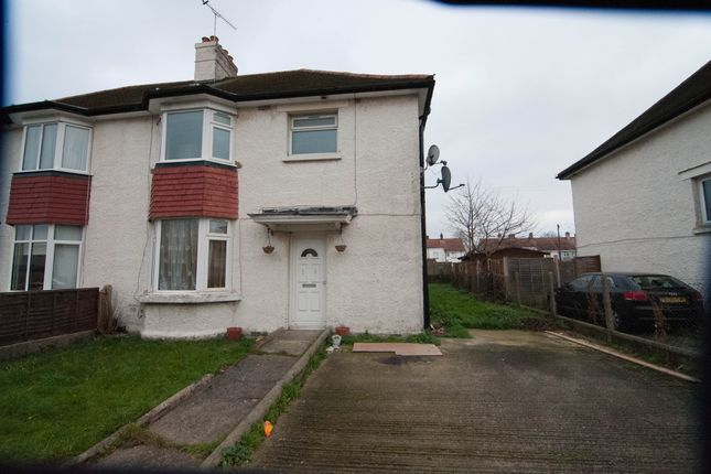 Thumbnail Semi-detached house to rent in Southgate Avenue, Feltham