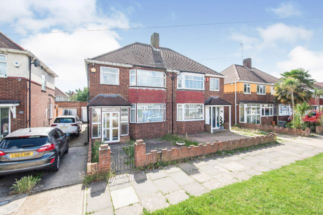 Thumbnail Semi-detached house for sale in Hall Road, Isleworth