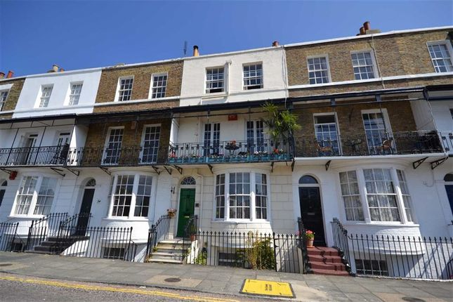 Thumbnail Terraced house for sale in Spencer Square, Ramsgate, Kent