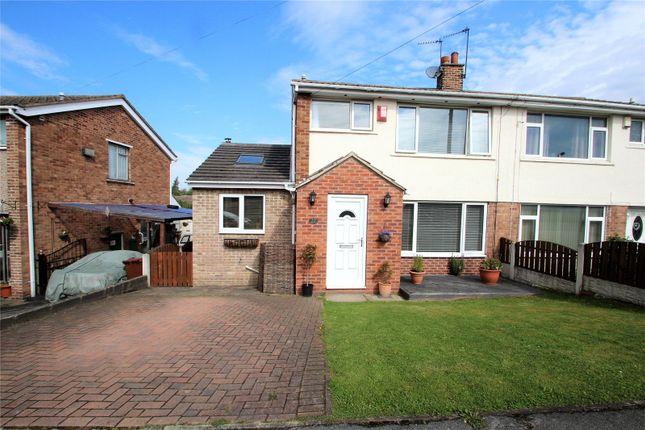 Thumbnail Semi-detached house to rent in Woodleigh Crescent, Ackworth, Pontefract, West Yorkshire