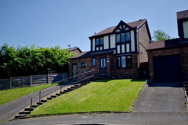 Thumbnail Detached house for sale in Christ Church Lane, Harwood, Bolton