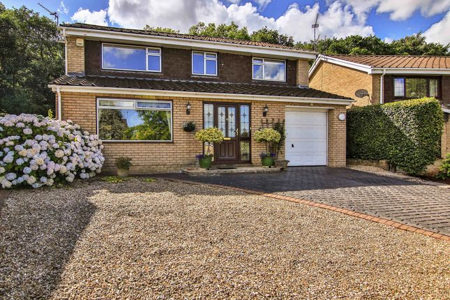 Thumbnail Detached house for sale in Glade Close, Coed Eva, Cwmbran