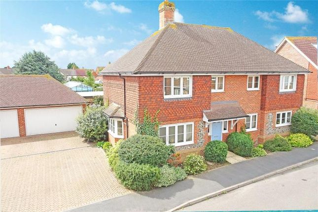 Thumbnail Detached house for sale in Bramley Green, Angmering, West Sussex