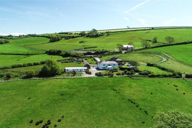 Thumbnail Detached house for sale in Mwche Farmhouse, Llanybri, Carmarthen, Sir Gaerfyrddin