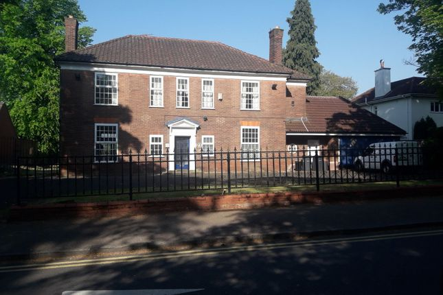 Thumbnail Detached house to rent in Vicarage Road, Edgbaston