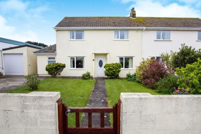 Thumbnail Semi-detached house for sale in St Agnes, Truro, Cornwall