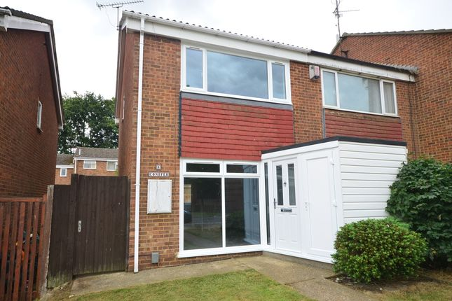 Thumbnail Terraced house to rent in Conifer Drive, Chatham