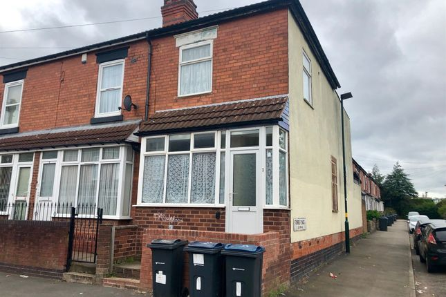 Thumbnail End terrace house for sale in Holmwood Road, Small Heath, Birmingham