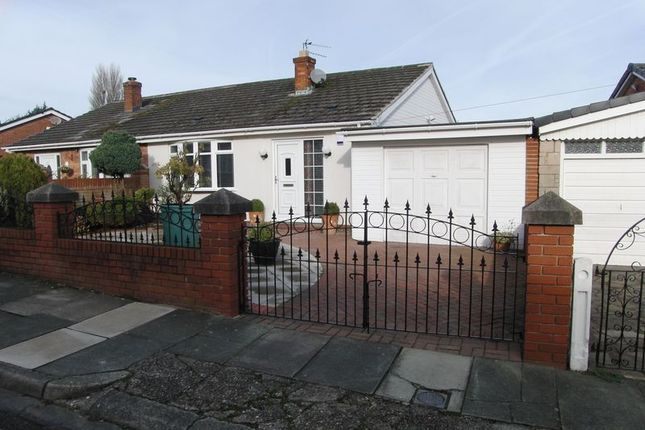 Thumbnail Semi-detached bungalow for sale in Laburnum Crescent, Kirkby, Liverpool