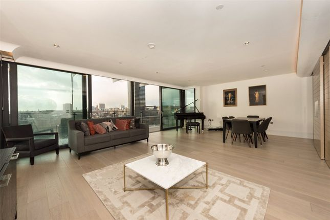Thumbnail Flat to rent in Merano Residences, Albert Embankment, London