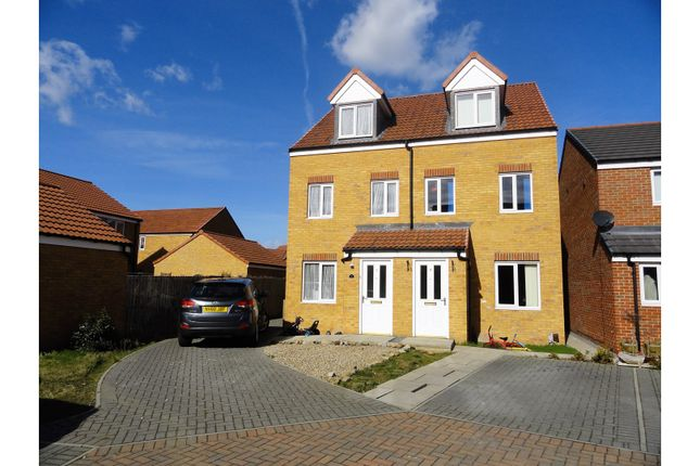 Thumbnail Semi-detached house for sale in St. Albans Close, Redcar