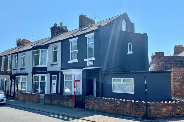Thumbnail End terrace house to rent in Tunstall Terrace West, Thornhill, Sunderland, Tyne And Wear