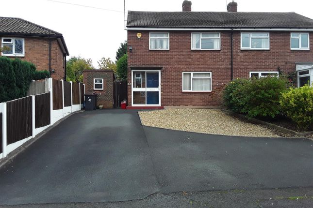 Thumbnail Semi-detached house for sale in Valley Road, Arleston, Telford
