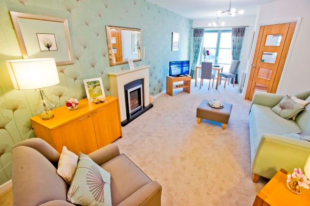 """Thumbnail Flat for sale in """"Typical 1 Bedroom"""" at Templars Court, Linlithgow"""