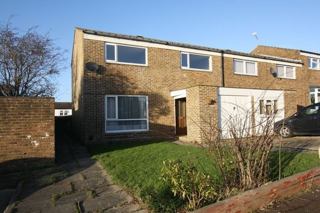 Thumbnail Semi-detached house to rent in Grisedale Close, Crawley
