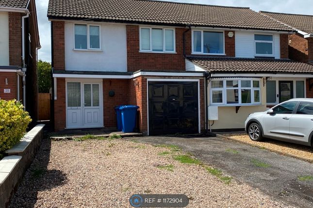 3 bed semi-detached house to rent in Holly Grove Lane, Burntwood WS7