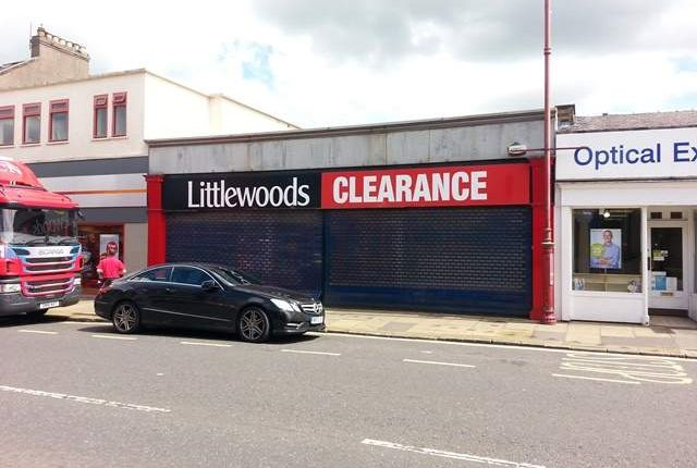 Retail premises to let in High Street, Cowdenbeath