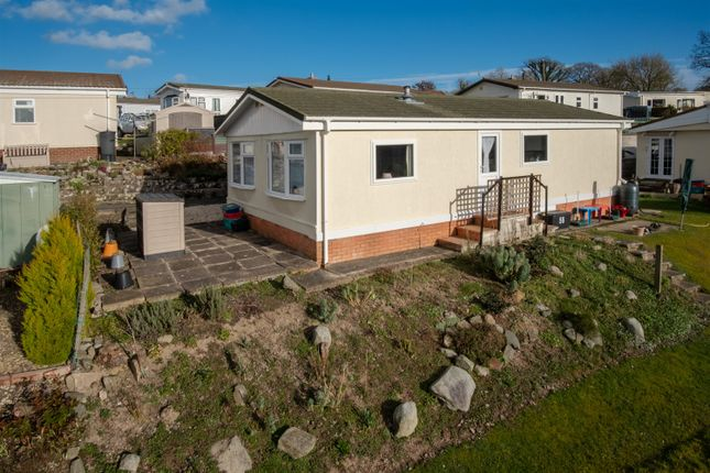 Thumbnail Mobile/park home for sale in 56 Sunny Haven, Howey, Llandrindod Wells