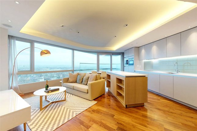 Thumbnail Flat for sale in Canaletto Tower, London
