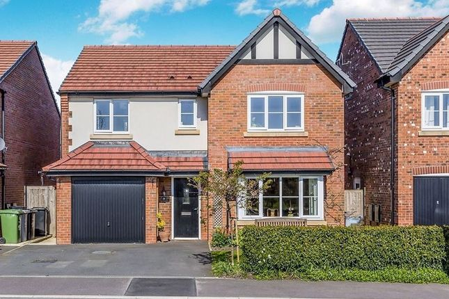 Thumbnail Detached house for sale in Dee Avenue, Holmes Chapel, Crewe