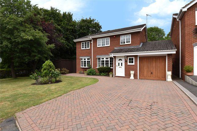 Thumbnail Detached house for sale in Cranham Close Headless Cross, Redditch