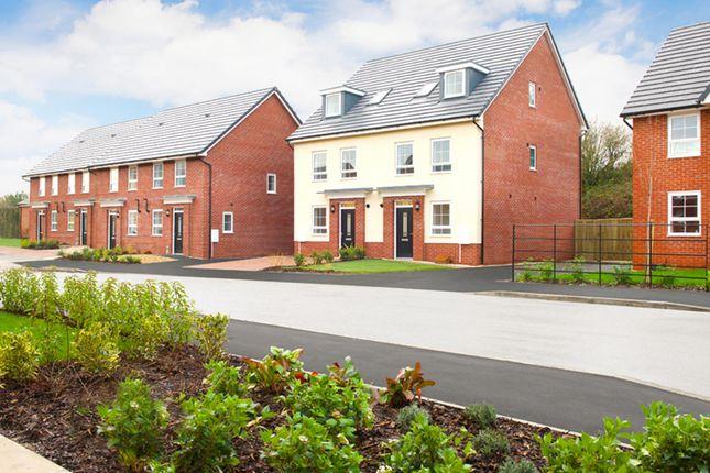 "Thumbnail Semi-detached house for sale in ""Helmsley"" at Kepple Lane, Garstang, Preston"